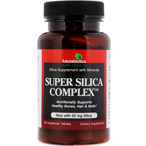 FutureBiotics, Super Silica Complex, 60вегетарианских таблеток