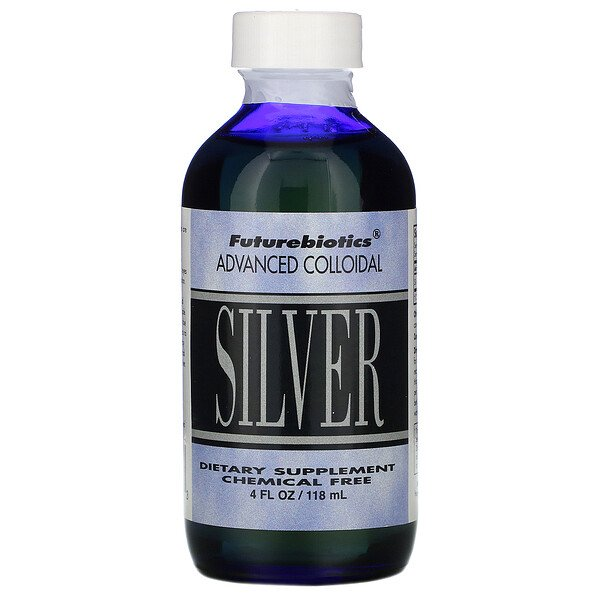 Advanced Colloidal, Silver, 4 fl oz (118 ml)