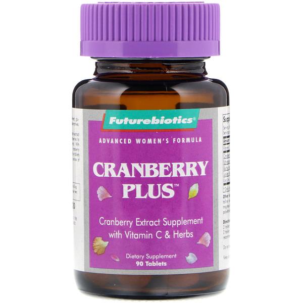 FutureBiotics, Advanced Women's Formula, Cranberry Plus, 90 Tablets (Discontinued Item)