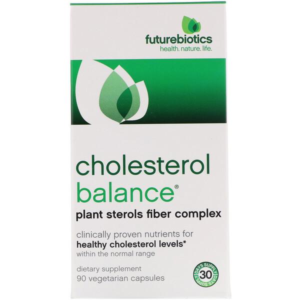 Cholesterol Balance, Холестерин, 90 вегетарианских капсул