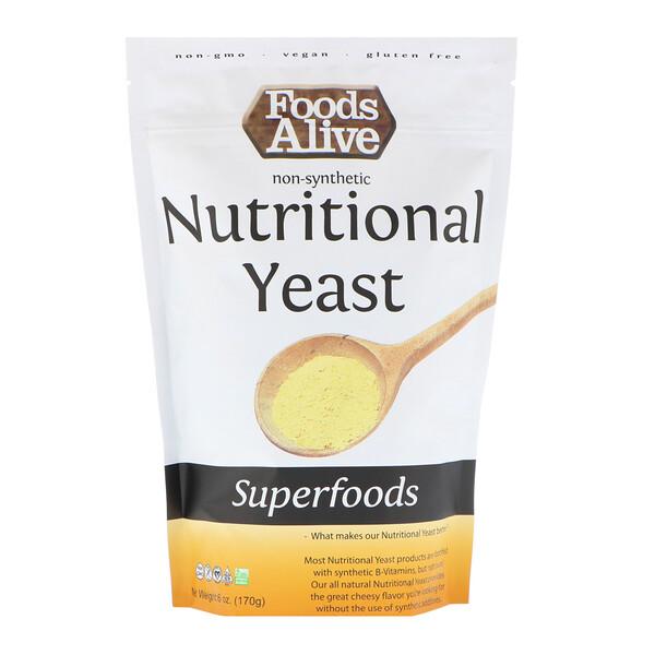 Superfoods, питательные дрожжи, 170 г (6 унций)