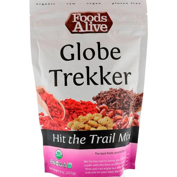 Foods Alive, Смесь «Отправляйтесь в поход», Глобальный путешественник, 227 г (Discontinued Item)