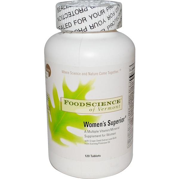 FoodScience, Women's Superior, 120 Tablets (Discontinued Item)