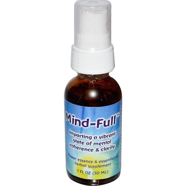 Mind-Full, цветочная эссенция и эфирное масло, 30 мл