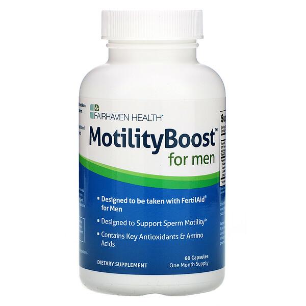 MotilityBoost для мужчин, 60 капсул