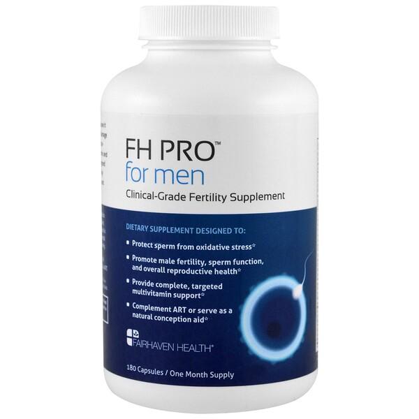 FH Pro для мужчин, добавка для фертильности клинического класса, 180 капсул