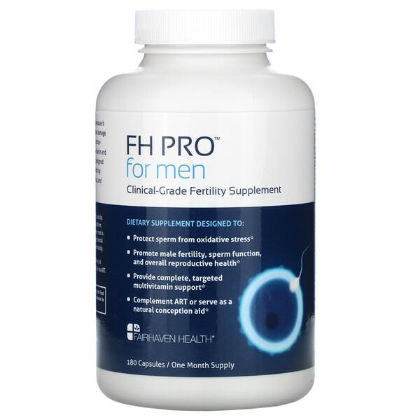 FH Pro для мужчин, добавка для улучшения фертильности клинического класса, 180капсул
