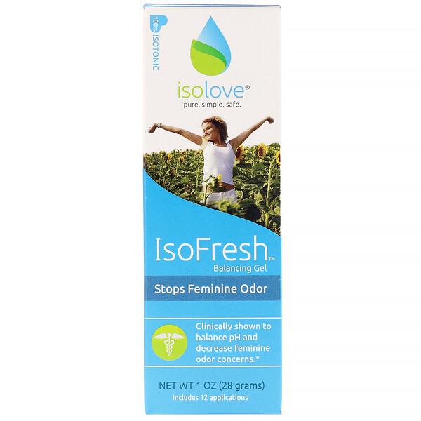 IsoFresh балансирующий гель для интимной гигиены для женщин, 28 г (1 унция)