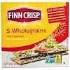 Finn Crisp, Тонкие хрустящие хлебцы из 5 видов цельных злаков, 6,7 унции (190 г)