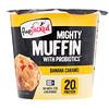 """FlapJacked, """"Мощный маффин"""" с пробиотиками, банановая карамель, 1,9 унц. (55 г)"""