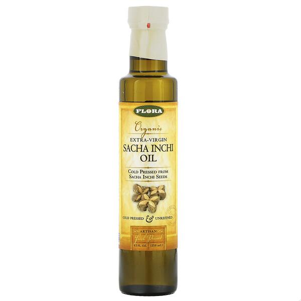Flora, органическое масло инка инчи холодного отжима, 250 мл (8,5 жидкой унции)