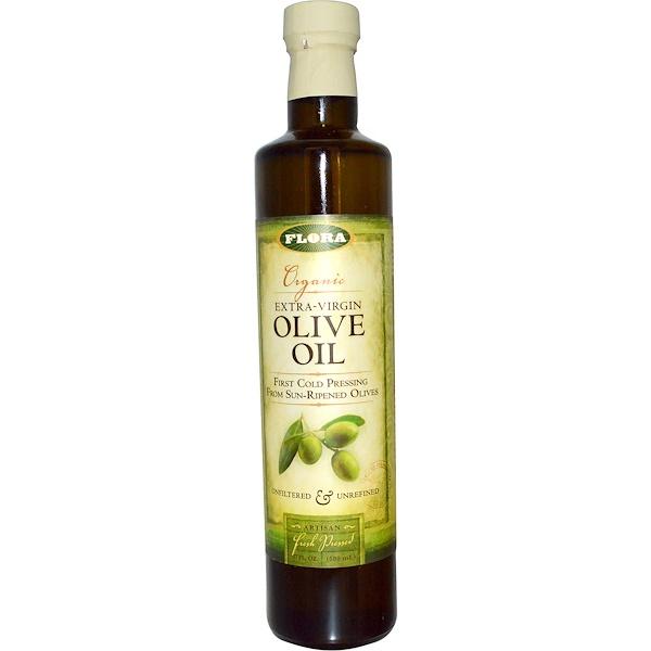 Органическое оливковое масло первого холодного отжима, 500 мл (17 жидких унций)