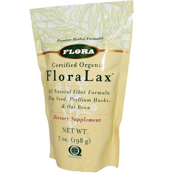 Flora, Сертифицированная органическая формула FloraLax, 198 г (Discontinued Item)