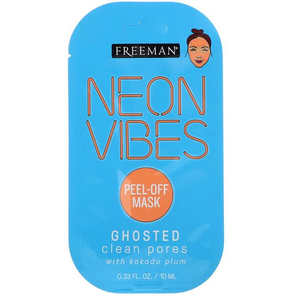 Неоновая энергетика, Ghosted, маска для очищения пор, 0,33 ж. унц. (10 мл)
