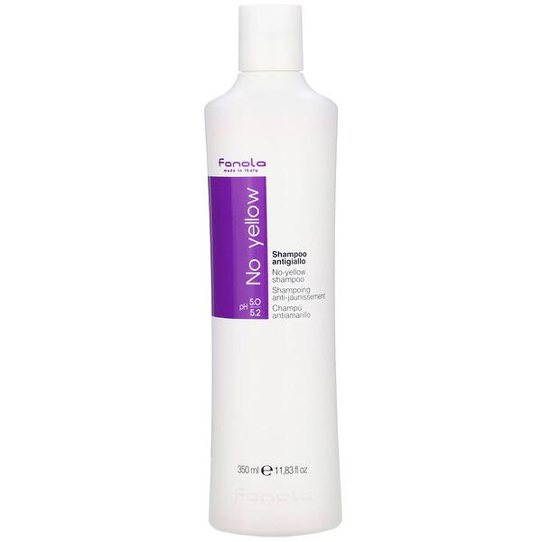 Fanola, No Yellow, Shampoo, 11.83 fl oz (350 ml)