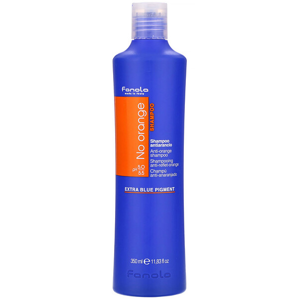 Fanola, No Orange, Shampoo, 11.83 fl oz (350 ml) (Discontinued Item)