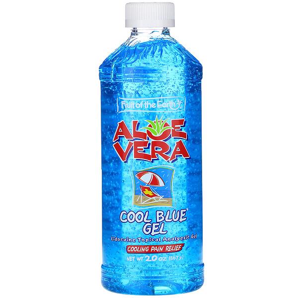 Aloe Vera, Cool Blue Gel, 20 oz (567 g)