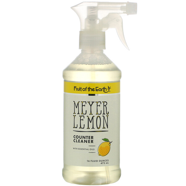 Meyer Lemon Counter Cleaner, 16 fl oz (473 ml)