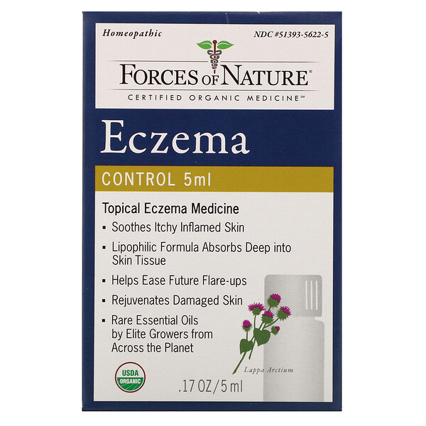 Forces of Nature, Eczema Control, .17 oz (5 ml)