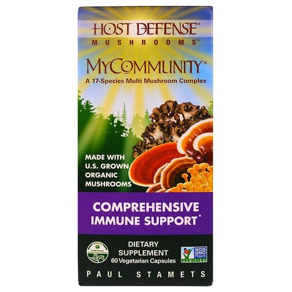 Комплекс 17 видов грибов MyCommunity, 60 растительных капсул