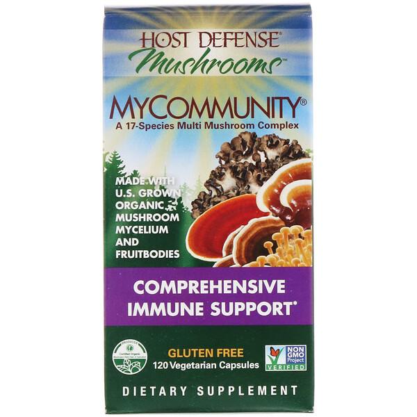 Иммунная защита, MyCommunity, 120 растительных капсул