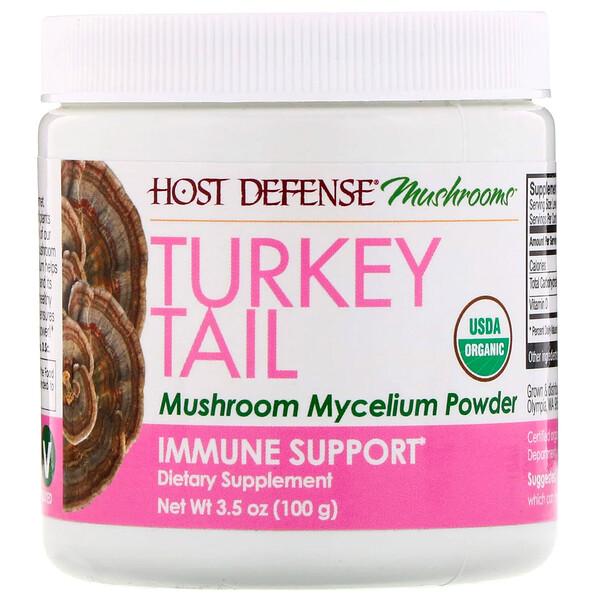 Трутовик разноцветный, мицелий грибов в порошке, добавка для укрепления иммунитета, 100г