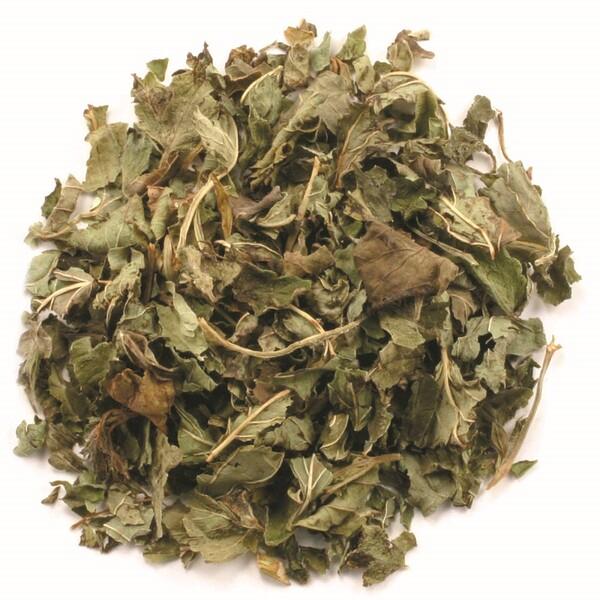 Органический нарезанный и просеянный лист лимонной мелиссы, 16 унций (453 г)