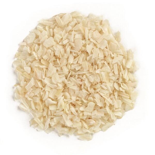 Органический рубленый белый лук, 16 унций (453 г)
