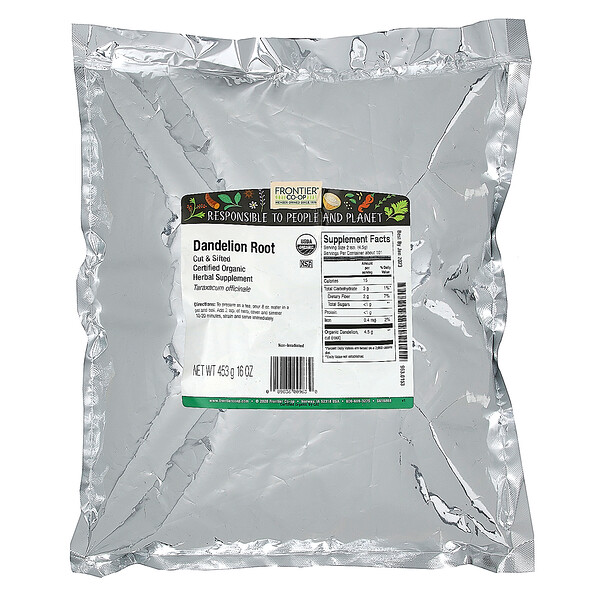 Cut & Sifted Dandelion Root, 16 oz (453 g)
