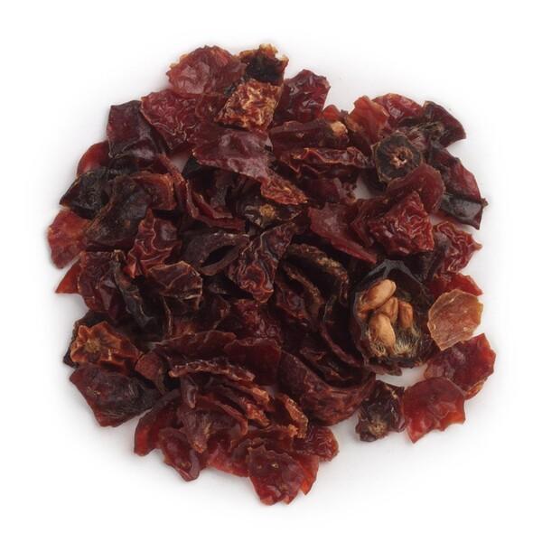 Organic Cut & Sifted Seedless Rosehips (Органический бескосточковый шиповник, резанный и просеянный), 453 г (16 унций)