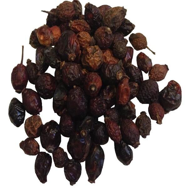 Органические цельные ягоды шиповника, 16 унций (453 г)