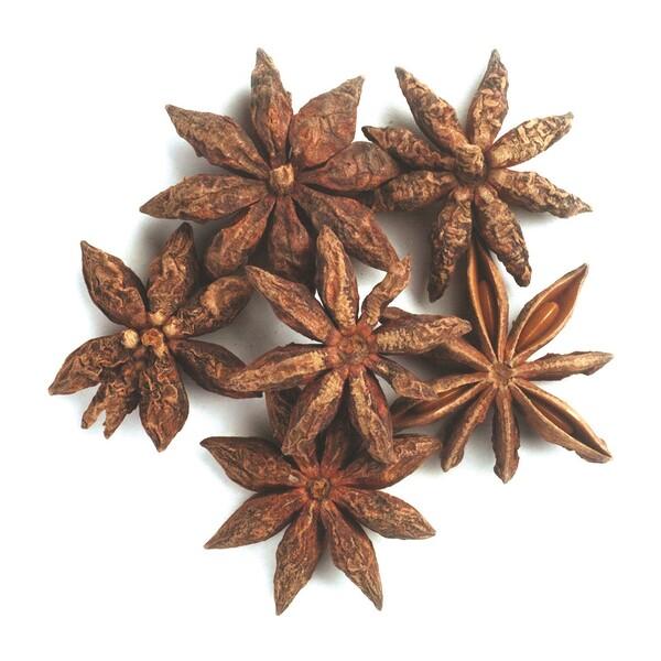Органические цельные звезды аниса, 16 унций (453 г)