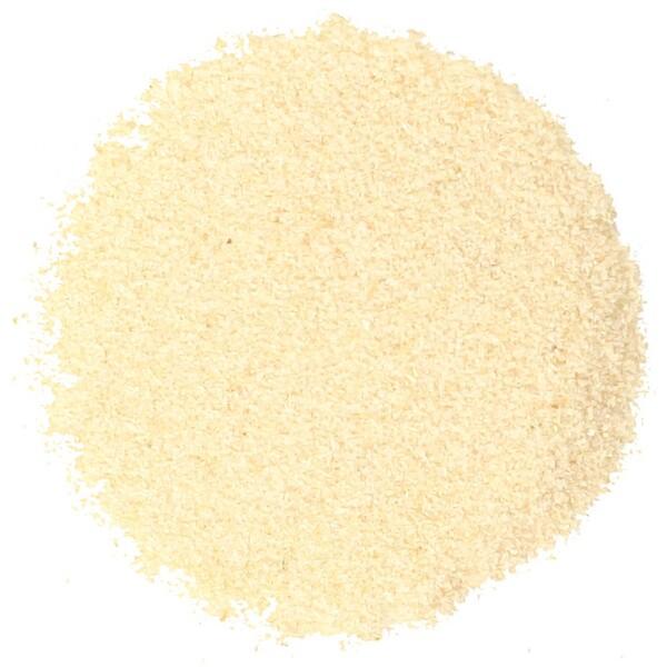 Органический гранулированный белый лук 16 унции (453 г)