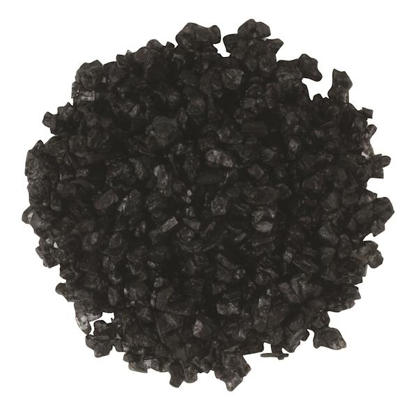 Frontier Natural Products, Гавайская черная морская соль грубого помола, 16 унций (453 г) (Discontinued Item)