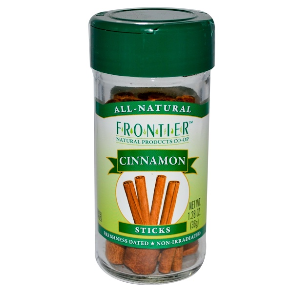 Frontier Natural Products, Палочки корицы, 1,28 унции (36 г) (Discontinued Item)