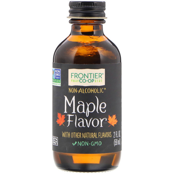 Maple Flavor, Non-Alcoholic, 2 fl oz (59 ml)