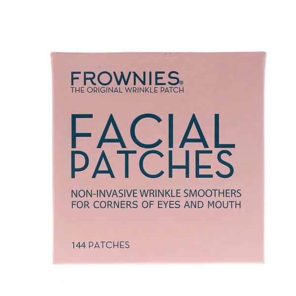 Frownies, Аппликационные пластинки для лица, уголков глаз и губ, 144 пластинки