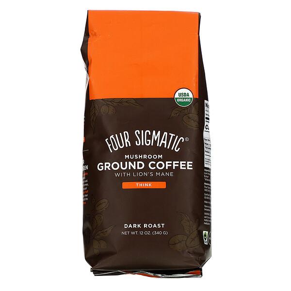 Four Sigmatic, Кофейно-грибная смесь, темной прожарки, 340г (12унций)
