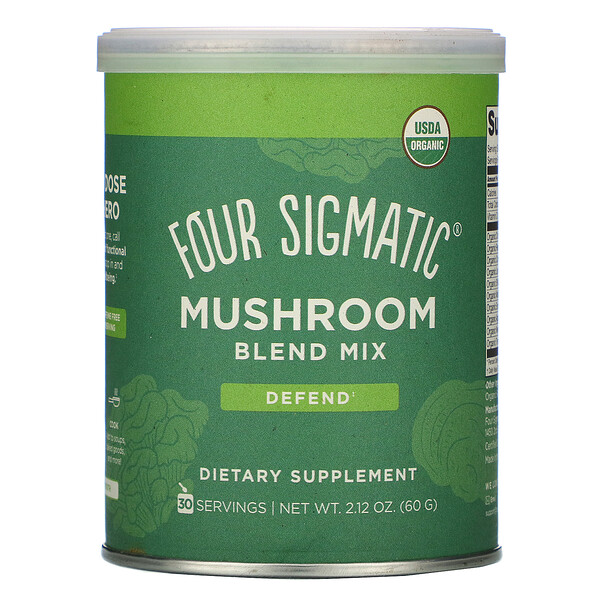 Four Sigmatic, Mushroom Blend Mix, 2.12 oz (60 g)