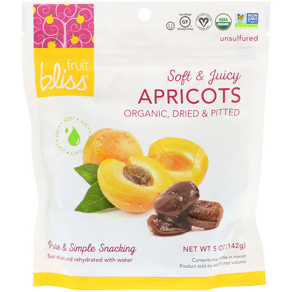 Organic, Dried & Pitted Apricots, 5 oz (142 g)