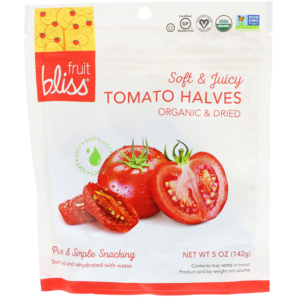 Organic & Dried Tomato Halves, 5 oz (142 g)