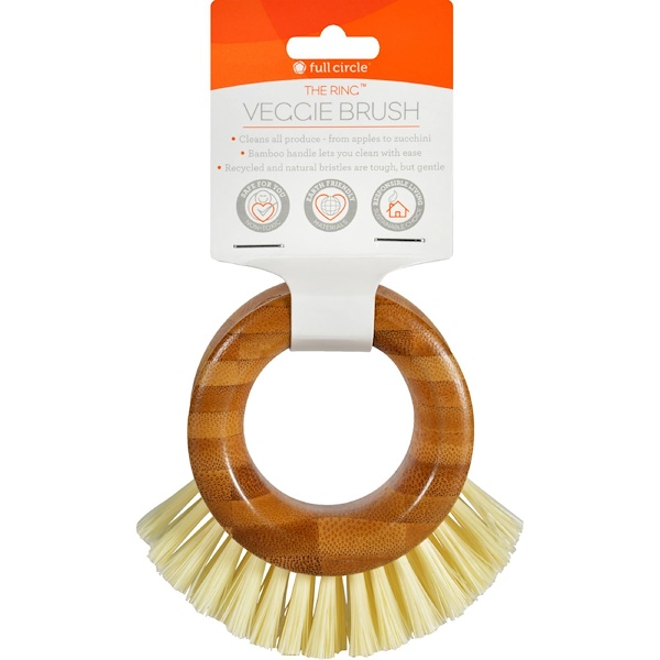 Full Circle, The Ring, Veggie Brush, 1 Brush (Discontinued Item)