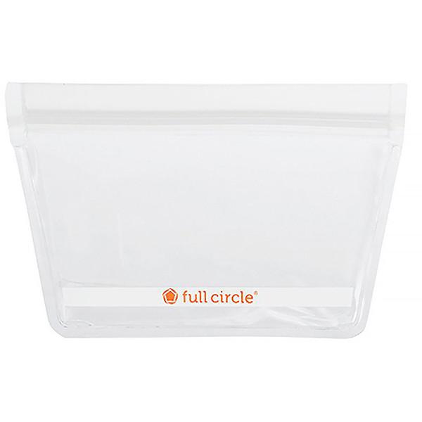 ZipTuck, многоразовые пакеты для закусок, прозрачные, 2 пакета