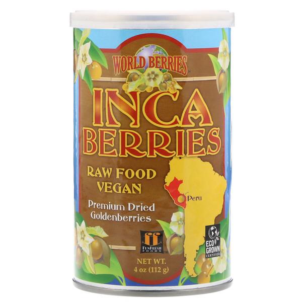 World Berries, Inca Berries, 4 oz (112 g)