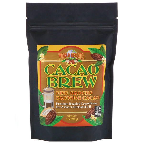 FunFresh Foods, World Berries, Cacao Brew, 8 oz (224 g) (Discontinued Item)