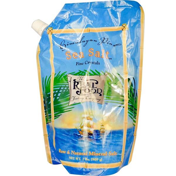 FunFresh Foods, Гималайская розовая морская соль, 909 г (2 фунта)