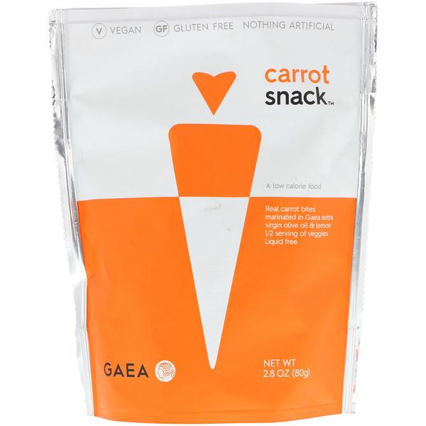 Gaea, Морковная закуска, 2,8 унции (80 г)