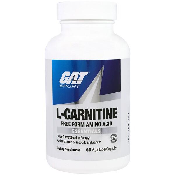 L-карнитин, 60 растительных капсул