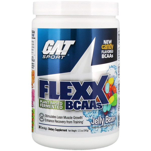 GAT, Flexx, аминокислоты с разветвлённой цепью, мармеладное драже, 12,1 унц. (345 г) (Discontinued Item)