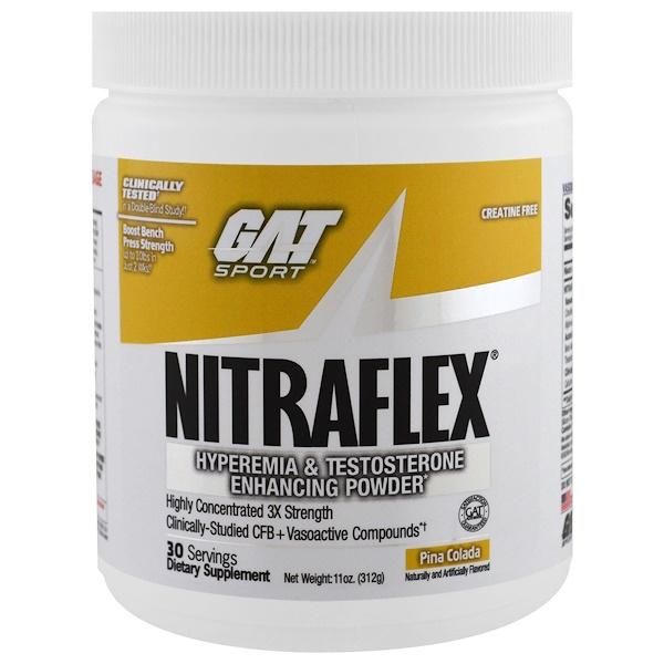 NITRAFLEX, Pina Colada, 11 oz (312 g)